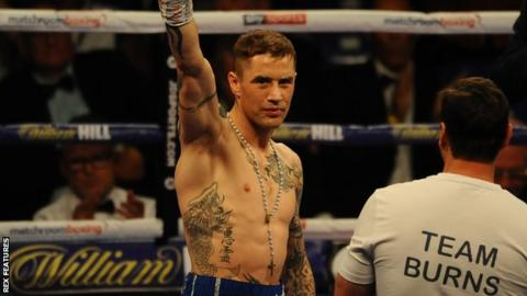 Ricky Burns is Scotland's only boxer to have held titles at three weight divisions