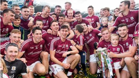 Galway won the All-Ireland hurling title by beating Waterford 0-26 to 2-17