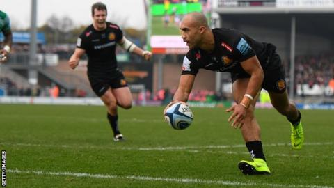 c137bf50f Premiership  Exeter Chiefs beat struggling Newcastle Falcons 35-17 ...