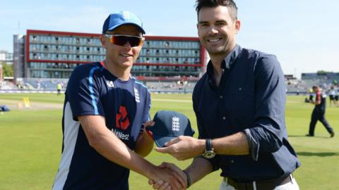 Sam Curran and James Anderson