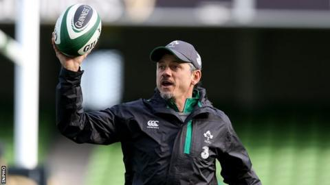 Les Kiss will assume the role of Ulster Head Coach after the World Cup