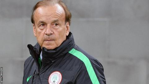 Gernot Rohr: Nigeria coach gives his backing to struggling striker Iheanacho