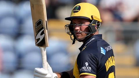 Glamorgan's Colin Ingram is already confirmed as a Welsh Fire player