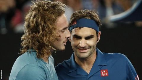Federer shocked by 20-year-old Tsitsipas at Australian Open