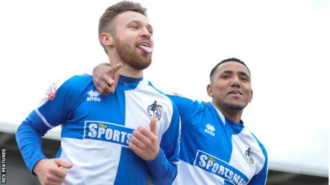 Matty Taylor and Cristian Montano