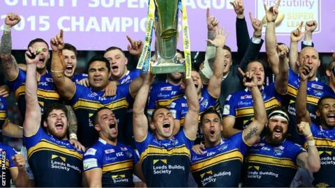 Leeds lift trophy aloft