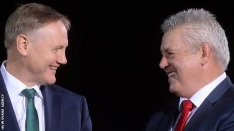 Joe Schmidt and Warren Gatland