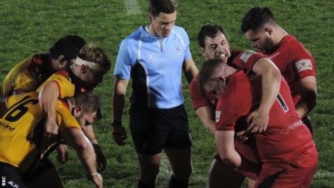 Jersey Reds v Cornish Pirates