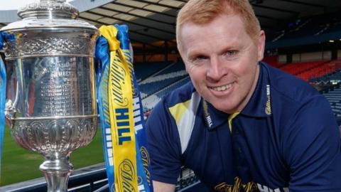 Neil Lennon has managed 350 senior competitive matches with Scottish clubs