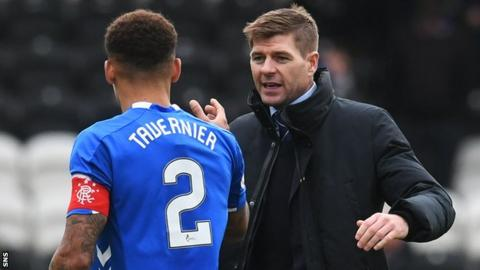 Steven Gerrard: Rangers boss won't make predictions about future success