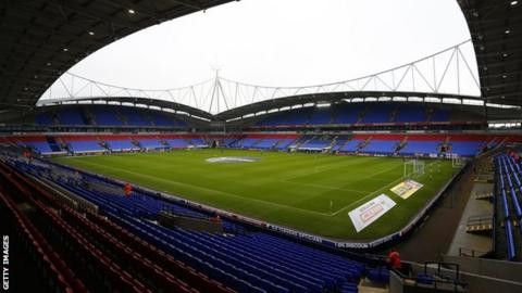 Bolton Wanderers were relegated from the Championship last season after finishing in 23rd place