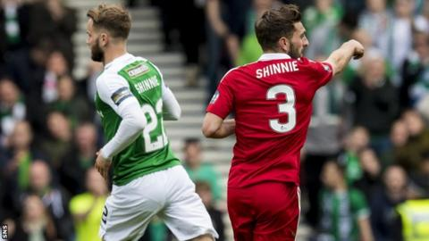 Andrew and Graeme Shinnie