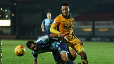 Wrexham is the third Welsh club Jazzi Barnum-Bobb has played for after Newport and Cardiff