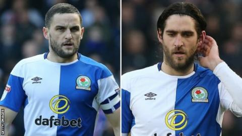 Craig Conway (left) and Danny Graham