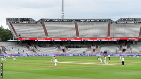 England v West Indies at Old Trafford