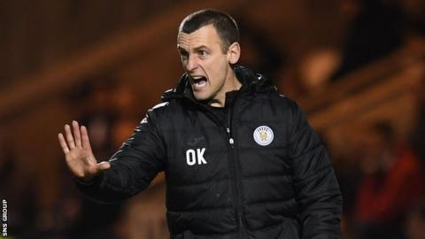 St Mirren manager Oran Kearney has made wholesale changes to his squad in January