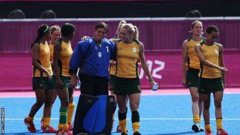 South Africa team