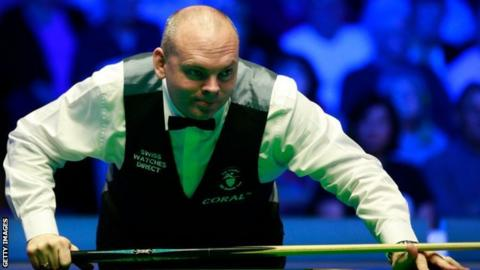 Stuart Bingham made a fifth 147 of his career.