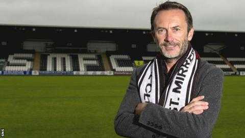 New St Mirren chairman Gordon Scott