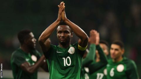 Nigeria, DR Congo draw 1-1 in World Cup 2018 prep