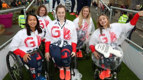 Greta Britain's women's wheelchair basketball