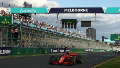 Sebastian Vettel wins the 2018 Australian Grand Prix
