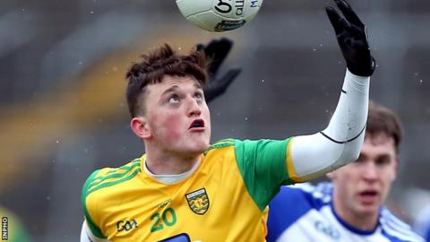 Niall O'Donnell was in top form as Donegal eased into the Ulster U20 quarter-finals