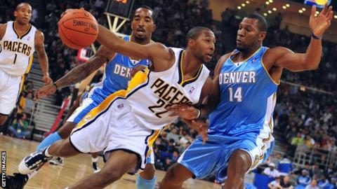 Denver Nuggets and Indiana Pacers