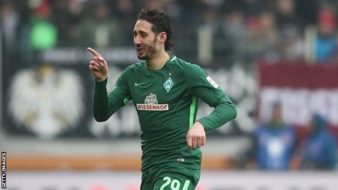 Algeria striker Ishak Belfodil