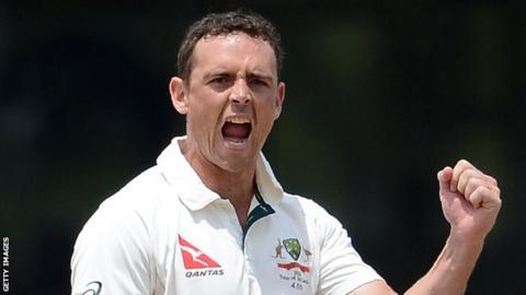 Australia spinner Stephen O'Keefe