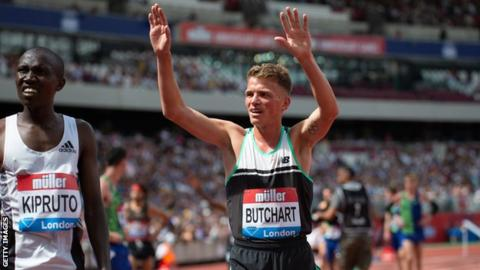 British Athletics Championships: Andrew Butchart relief as 5,000m win secures Doha place