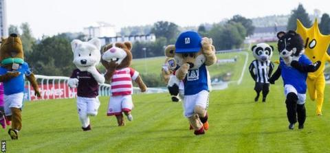 SPFL Mascot Race 2018