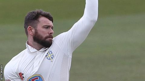 Ryan Pringle made his first-class debut against Somerset in May 2014