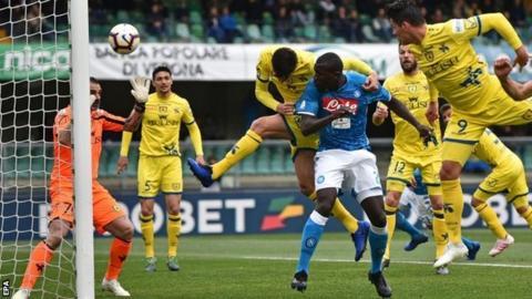 Kalidou Koulibaly scores