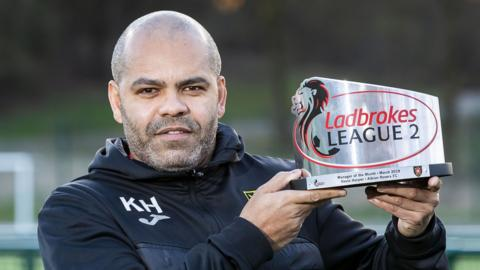 Kevin Harper is staying on at Albion Rovers