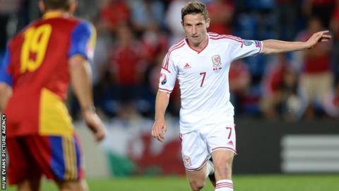 Liverpool's Joe Allen has been a key part of the Wales midfield in qualifying