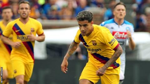 Philippe Coutinho: Barcelona midfielder set for Bayern Munich loan move