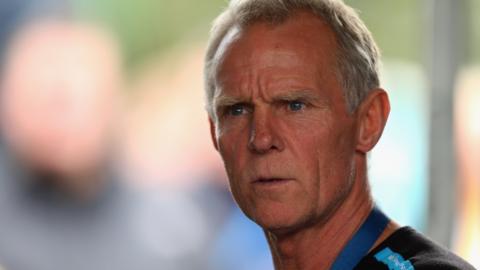 Former British Cycling technical director Shane Sutton