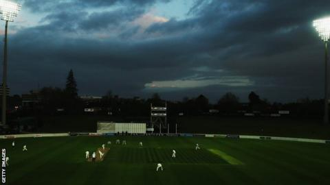 Floodlit cricket