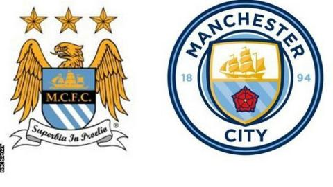 Man City: Fans have their say as new badge is leaked - BBC ...