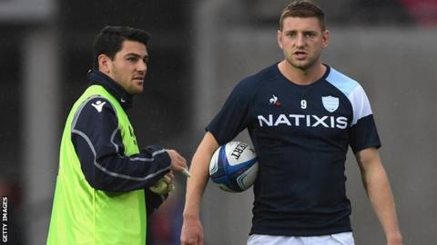 Sam Hidalgo-Clyne: Scotland scrum-half joins Racing 92 as injury cover