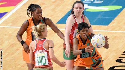 Strong Wales defence from the likes of Nichola James helped keep Zambia at bay