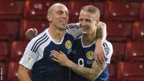 Scott Brown is sure Leigh Griffiths will be back to his best for Scotland and Celtic soon
