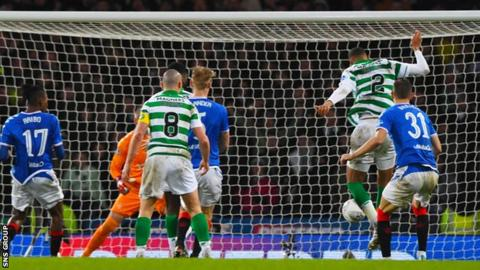 Jullien's winner from Ryan Christie's free-kick was Celtic's only shot on target
