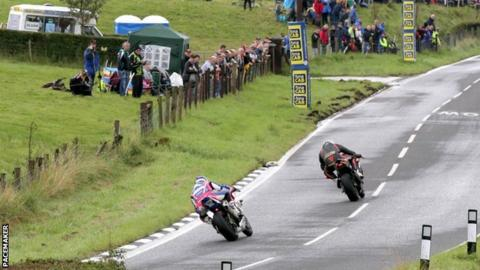 The future of road racing over the Dundrod circuit is unclear
