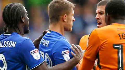 Jack Storer has played just once since being sent off on only his second league appearance for Blues in August, against Wolves