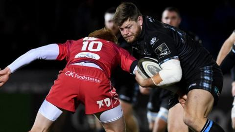 Glasgow Warriors: Oli Kebble extends contract until 2020