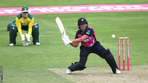 England Women follow up men's ODI record with T20I high