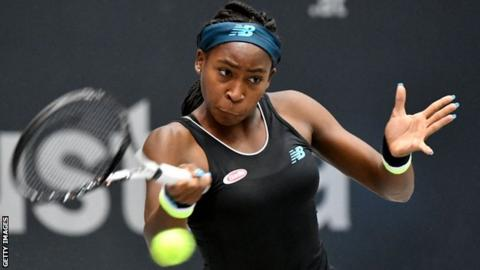 Coco Gauff, 15, wins first WTA title, beating former French Open champ