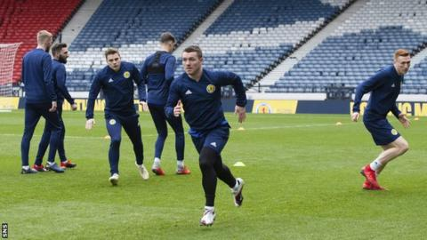 Steve Clarke says Scotland's young players need 'time to grow and develop'